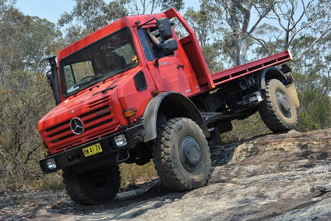 Mercedes Benz Unimog U5000 Review 4x4 Australia