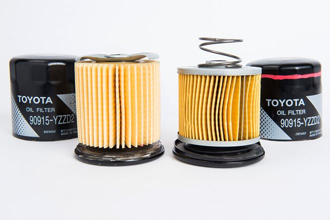 CounterfeitToyota Oil Filter RHS Note spring