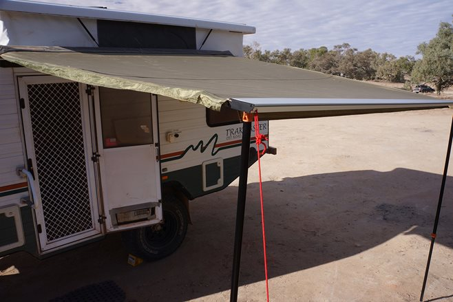 A COUPLE Of Months Ago I Was In Pickle When It Came Time To Replace Our Campers Side Awning Not That Had Worn Out But Met With An