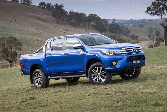 toyota hilux airbag recall