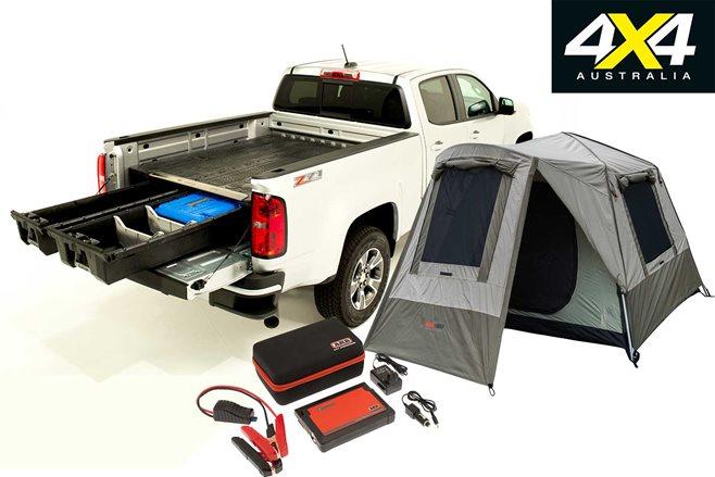 4x4 australia february gear new stuff  sc 1 st  4X4 Australia & New 4x4 Gear: Decked storage system; Black Wolf tent; ARB jump ...
