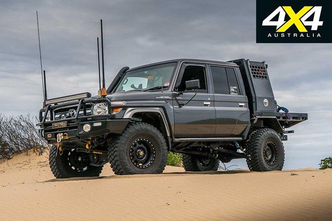 Custom Toyota Lc79 Thug Truck Review 4x4 Australia