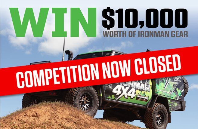 4x4 Aus $10k Gear COMPETITION CLOSED