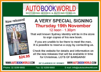 Roger Rogerson book signing