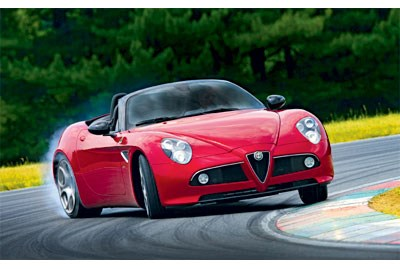 LAUNCHED: Alfa Romeo 8C Spider