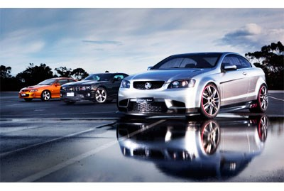 3 Kings - Chevrolet Camaro vs Holden Coupe 60 vs Holden Monaro
