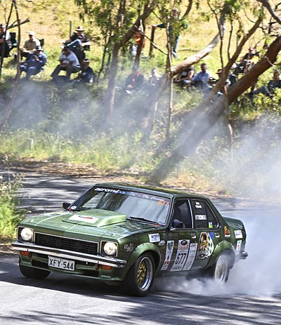 Seton and Nissan, Percy and Jaguar line up for Classic rally