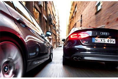 Heir Triggers - Audi S4 vs BMW 335i