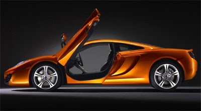 Wraps come off the McLaren MP4-12C
