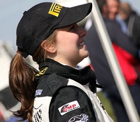 Aussie Molly Taylor is the British Ladies Rally Champion