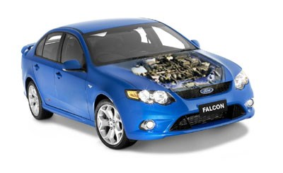 Ford boss tells us why he went for the four cylinder Falcon