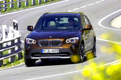 BMW X1 breaks cover