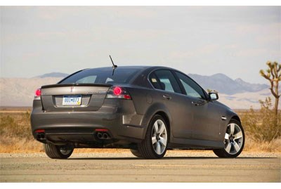 Two recalls for Pontiac G8