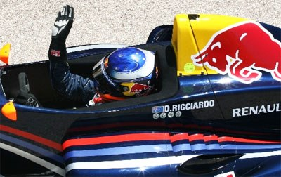 F1 young gun poised for success