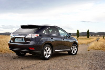 LAUNCHED: Lexus RX350