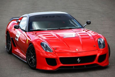 Ferrari does a hot deal on the 599XX project