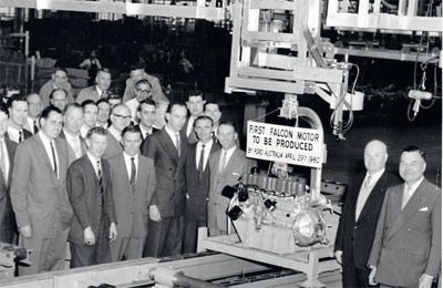 Today in 1960: Ford powers on