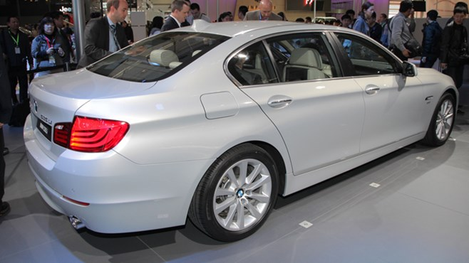 BMW long wheelbase 5 series