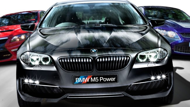 M5: BMW reinvents the fast four door!