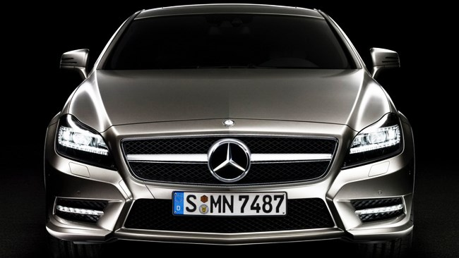 2012 Mercedes-Benz CLS revealed