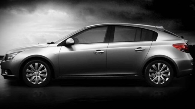 The new 2012 Holden Cruze Hatch