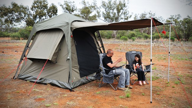Product Test: OzTent Jet Tent F25