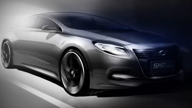 Renault Samsung concept revealed