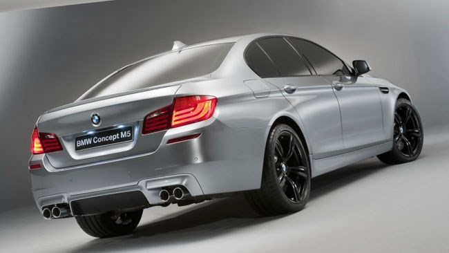 2012 BMW M5 Concept Revealed At Shanghai