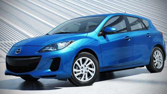 Mazda 3 reaches for the Skyactive