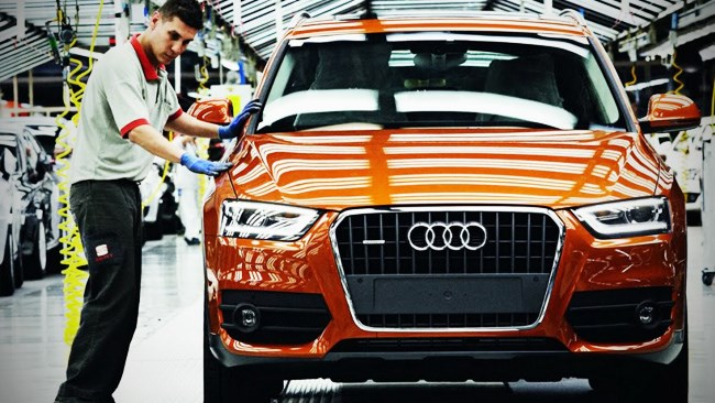 Audi Q3 production begins