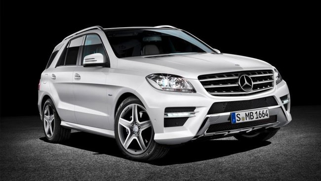 New Mercedes ML-Class revealed