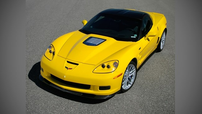 Corvette ZR1 blasts the Nurburgring