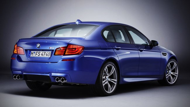 BMW reveals all-new M5