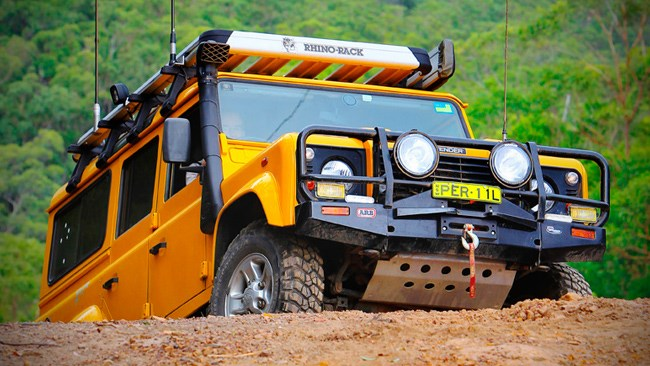 Modified Land Rover Defender 110