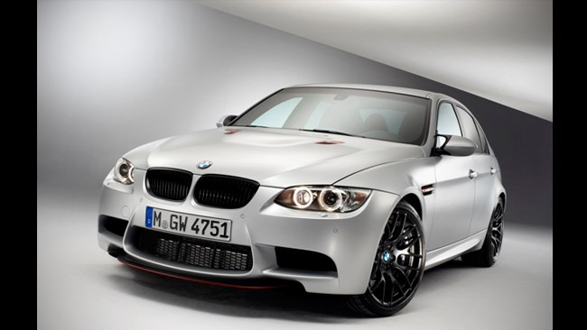 BMW M3 CRT adds power and lightness
