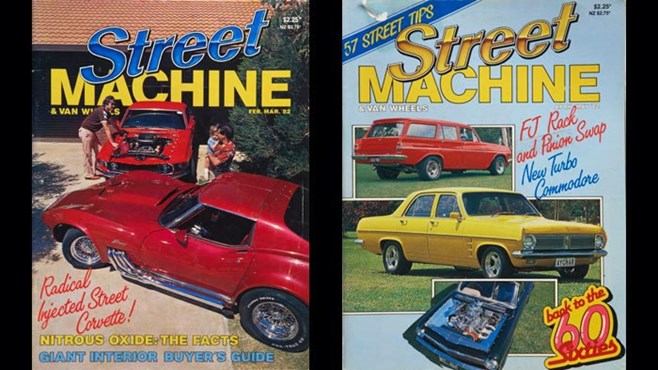 Street Machine 1982 covers