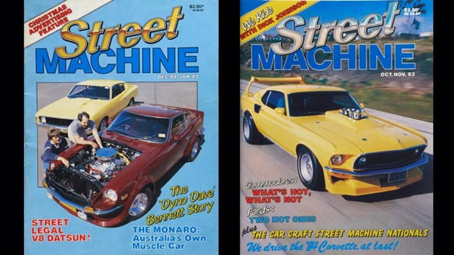Street Machine 1983 covers