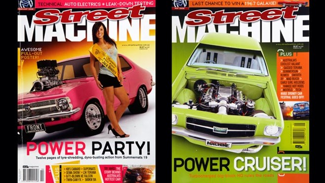 Street Machine 2006 covers