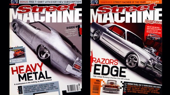 Street Machine 2007 covers