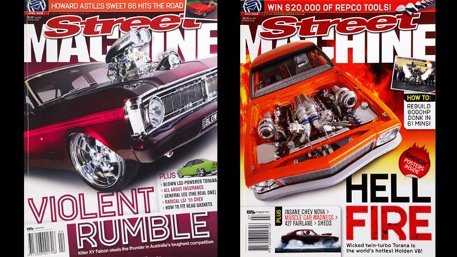 Street Machine 2008 covers