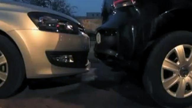 World's Tightest Parallel Parking Record