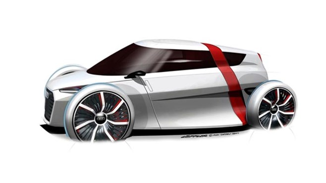Audi's Urban Mobility Concept