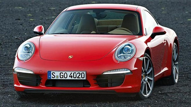 New Porsche 911 images leaked