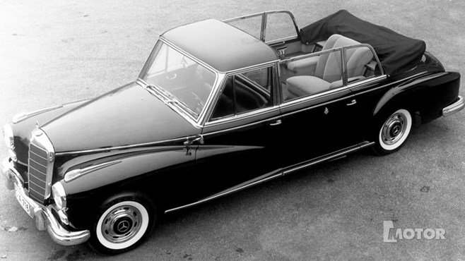 Mercedes-Benz 300d Landaulet for Pope John XXIII - 1960