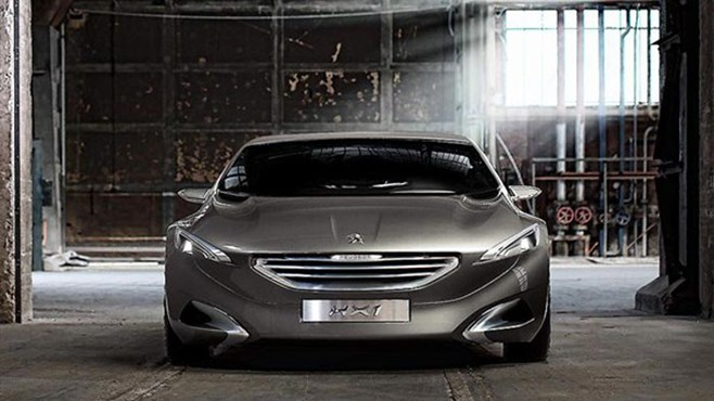 Peugeot HX1 concept car revealed