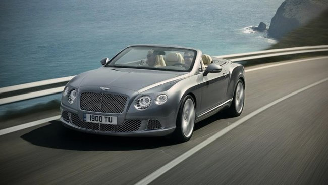 Second-gen Continental GTC convertible on its way