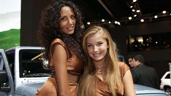 Girls of the Frankfurt Motor Show 2011