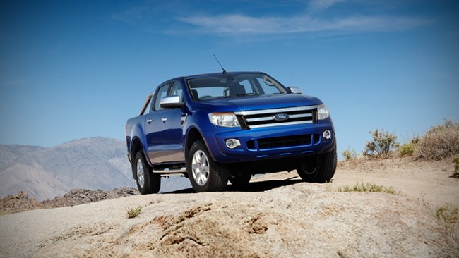 Ford Ranger global challenge