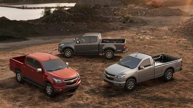 Holden Colorado revealed