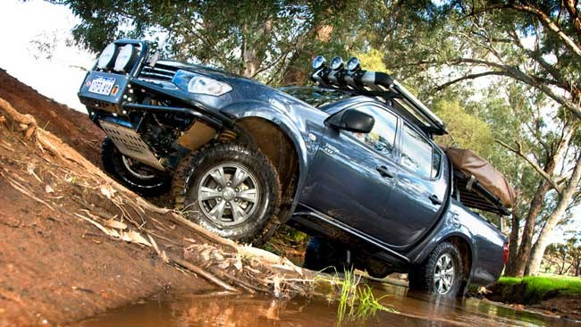 Modified Mitsubishi Triton